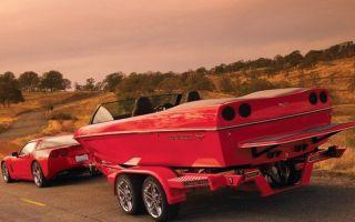 Как выбрать прицеп для перевозки лодки