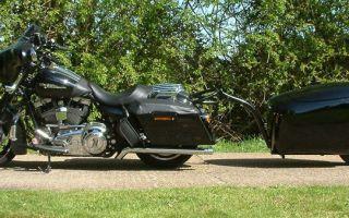 Прицеп для мотоцикла — особенности выбора