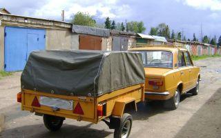 Прицеп Пчелка проверенный способ перевозки грузов