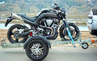 Прицеп для перевозки мотоцикла – простыми словами