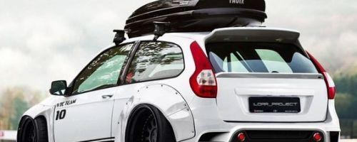 Багажник на крышу автомобиля Лада Калина