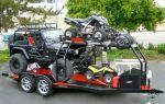 Выбираем двухосный прицеп для легкового автомобиля