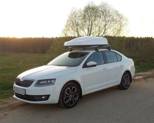 Багажник на крышу Шкода Октавия – особенности популярных моделей