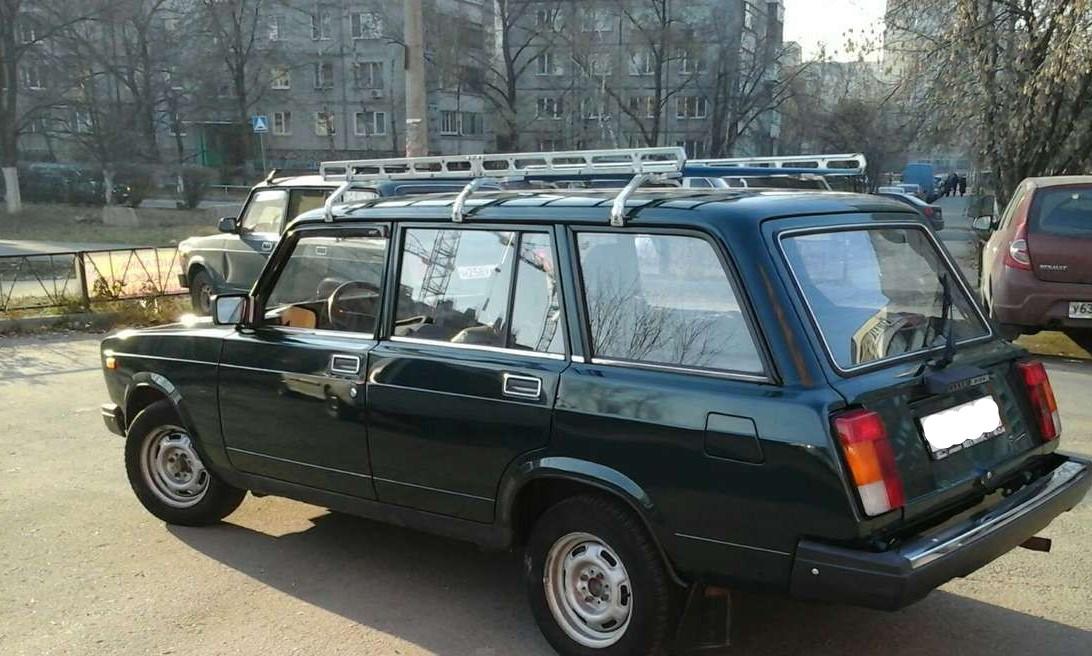 Багажник на крыше ВАЗ 2104