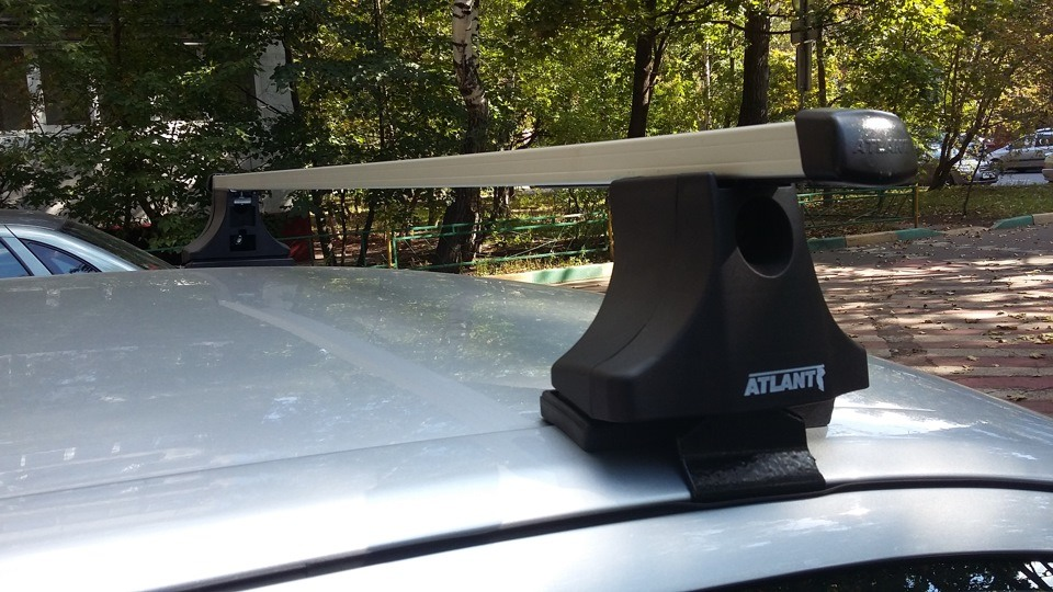 Багажник для плоских крыш Атлант
