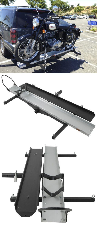 Мотобагажник на фаркоп автомобиля