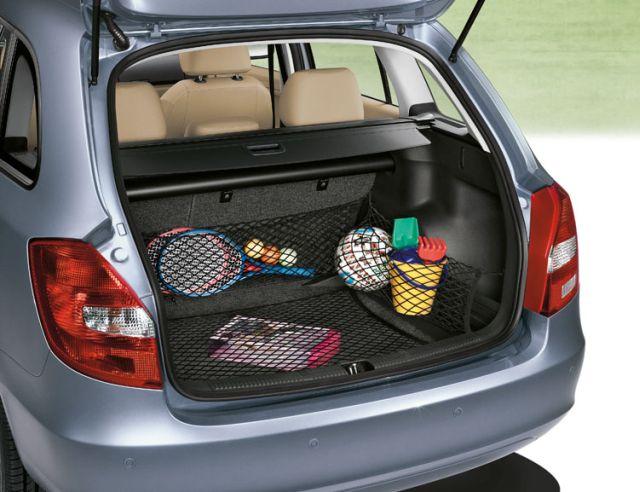 Органайзер-сетка в багажнике автомобиля