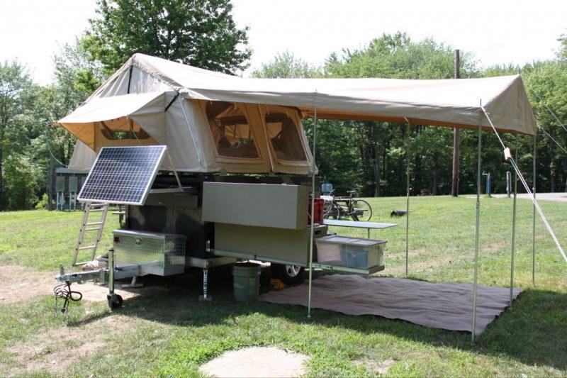 Прицеп палатка