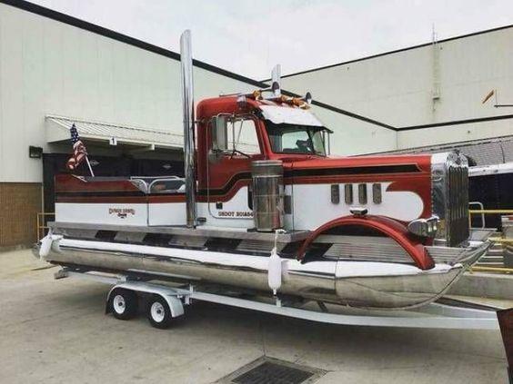Двухосный прицеп для перевозки лодки