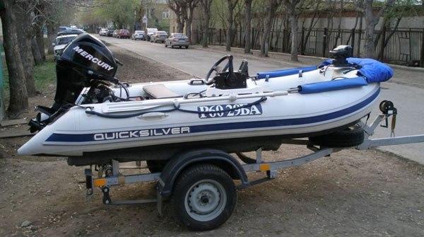 Прицеп для перевозки лодки ПВХ