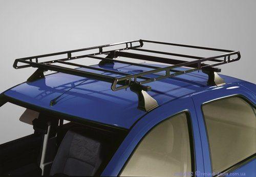 Универсальный багажник на Рено Логан