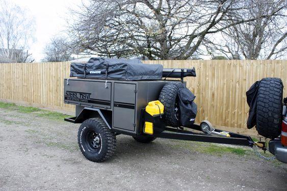 Прицеп внедорожный фургон