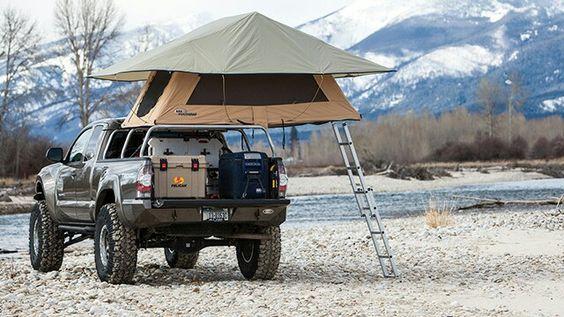 Багажник палатка на крыше автомобиля