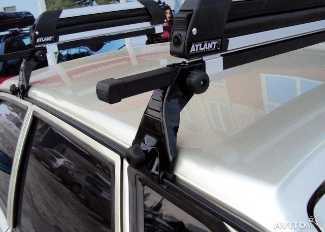 Багажник на водостоки Атлант