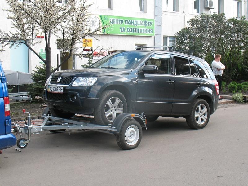 Лафет для перевозки автомобиля
