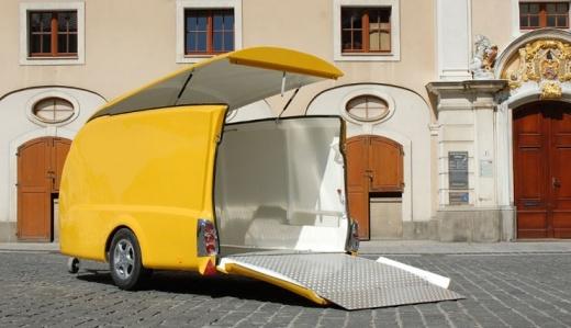 Прицеп трейлер для перевозки автомобиля
