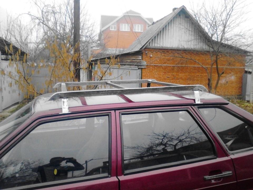 Самодельный багажник на крышу ВАЗ 2114