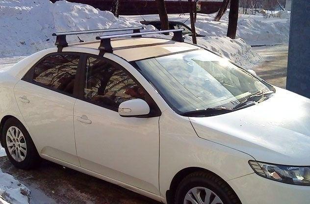 Поперечины на крышу автомобиля Атлант