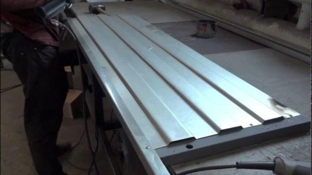 Самодельные борта из металла